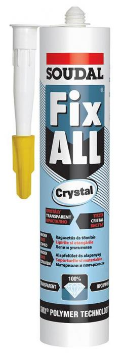 Adeziv Soudal Fix All Cristal 290 ml